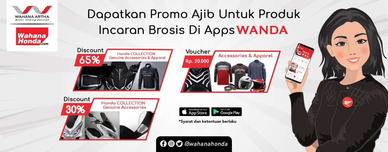 Special Discount Honda Genuine Accessories & Honda Genuine Apparels