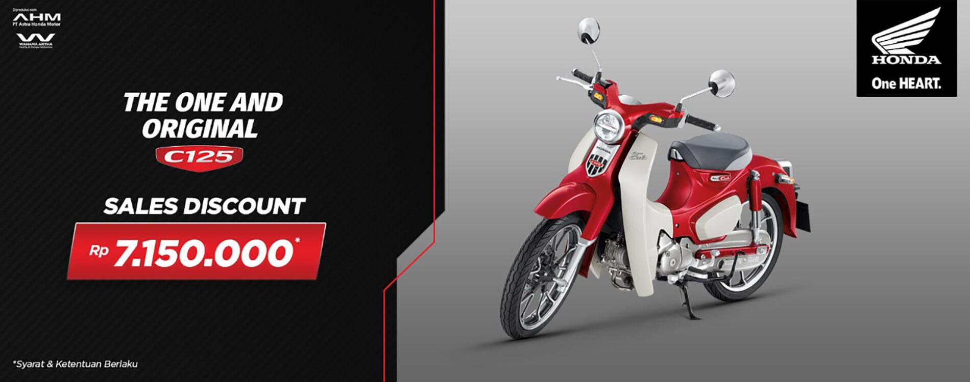 Promo Honda SuperCUB 125 Periode September2021