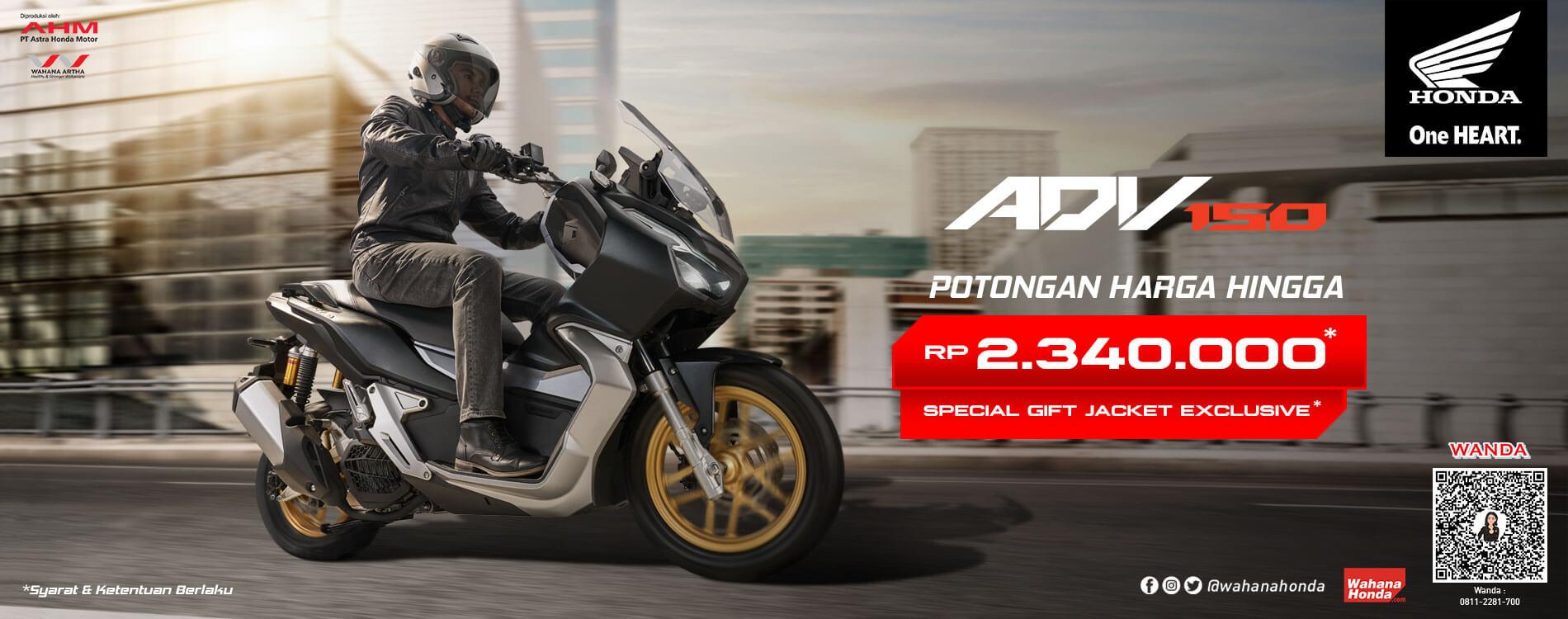 Promo Honda ADV 150 Periode September 2021