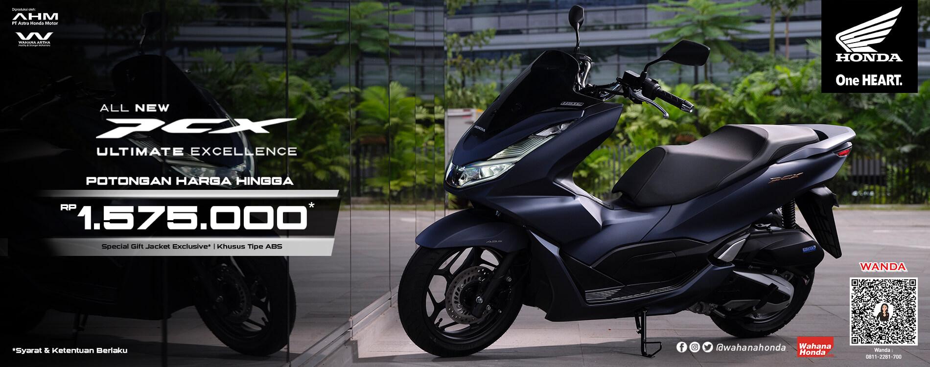 Promo Honda All New PCX Periode Oktober 2021